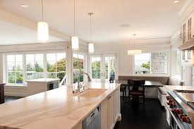 transitional pendant lighting kitchen transitional with breakfast bar neutral colors island lighting