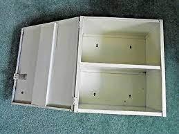 vintage 1950 s metal wall cabinet