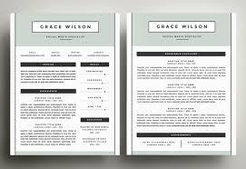2 Page Cv Template Resume Template 3 Page Cv Template Resume Format