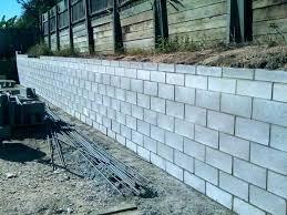 concrete block retaining wall concrete block fence cost decorative concrete block retaining wall cost masonry blocks