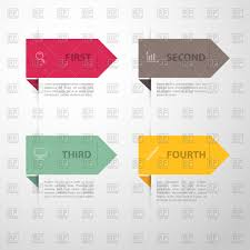 Simple Info Graphics Infographics Template Simple Banners Vector Illustration Of Design