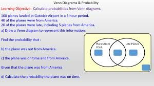 How To Construct A Venn Diagram How To Draw A Venn Diagram To Calculate Probabilities Mr