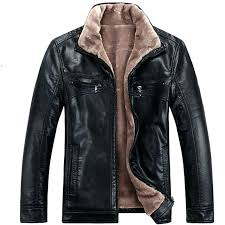 mens faux leather jacket autumn and winter faux leather jacket men faux fur jackets man plus size men leisure mens faux leather jacket australia