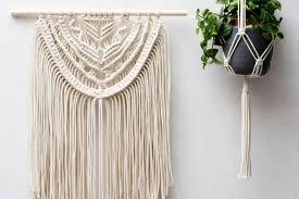 Macrame Wall Hanging Macrame Wall Hangings Plant Hangers Buy Or Diy Belivindesign