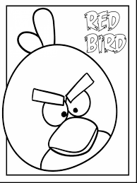 Small Picture Spectacular red angry bird coloring pages with birds coloring