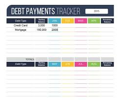 Credit Card Payment Tracker Debt Payment Tracker Fillable Personal Finance Organizing Etsy