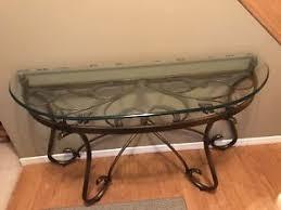 metal hall table. Beautiful Glass And Metal Hall Table