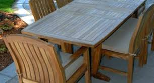outdoor wood patio table faux wood outdoor dining table large size of set with reclaimed medium outdoor wood patio table