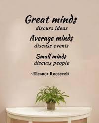 Amazoncom Great Minds Discuss Ideassmall Minds Discuss People