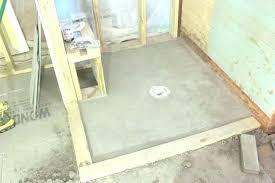 building a tile shower floor base how to pan ceramic diy ceram