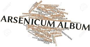 Album Word Abstract Word Cloud For Arsenicum Album With Related Tags And