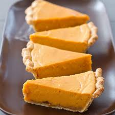 sweet potato pie slice.  Sweet Intended Sweet Potato Pie Slice E