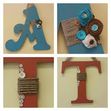 Fall Letters 4 square