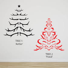 Small Picture antler christmas tree wall sticker by oakdene designs