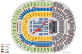 New Era Field Seating Chart Beyonce People Are Paying Hundreds Of Dollars To Get Splashed By