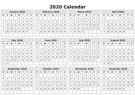 Editable 2020 Monthly Calendar Editable 2020 Calendar Printable Template Blank With Notes
