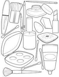 Small Picture Makeup Coloring Pages To Print FunyColoring