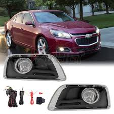 2016 Chevy Malibu Fog Light Kit Amazon Com Winjet 2013 2015 Chevy Impala Clear Fog Light