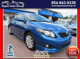 2009 Used Toyota Corolla S at Expert Auto Group Inc Pompano ...