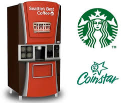 Starbucks Vending Machines