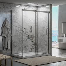 build your bathroom shower doors