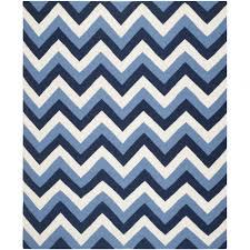 interior navy blue and white zigzag rug chevron 8x10 zig zag navy zig zag rug