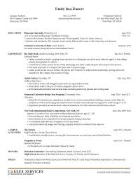 Student Resume Format For Campus Interview Free Resume Example