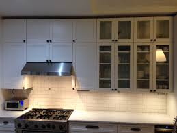 backsplash lighting. some finishing touches on the kitchen backsplash undercabinet lighting pot filler brownstone cyclone d