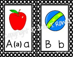 Sing Spell Read And Write Alphabet Chart Alphabet Wall Display Cards Pictures Are Sing Spell Read Write Compatible