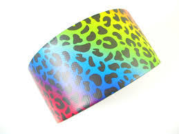 love duct tape. Rainbow Leopard Duct Tape. I Love Tape! Have This One In Brown Tape C