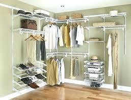 closet maid closet organizer browse by brand closetmaid shelftrack closet organizer