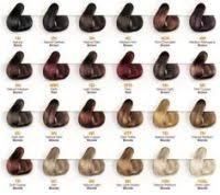Yunsey Color Chart Thermae Spa Color Chart Alfaparf Yellow Hair Color Chart