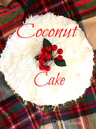 This Coconut Cake Is Delicious Easy To Make And Loved By All