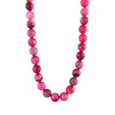 Buy PANAASHE-Rajasthani 8MM <b>Pink Crystal</b> Cut SEMI-Precious ...