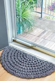 half moon rugs 10 stylish crochet designs for a personal touch