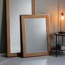 mirror effect furniture. Stockholm Rectangle Wall Mirror, Oak Effect Mirror Furniture