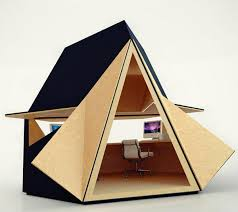 tiny office space. View In Gallery Innovative Small House Plans Home Office Space 2 . Tiny