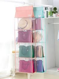 hanging closet organizer 4 shelf washable closet organizer for accessory and clothes share