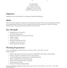 Resume Objective Beauteous Resume Objective Server R Quickplumberus