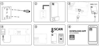 """danfoss icon can scan the qr code on the icon app module to the icon app step 5 6 below or search for """"danfoss icon"""" in the app store or google play"""