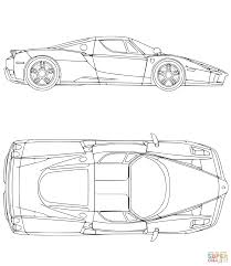 Ferrari Car Coloring Page Free Printable Pages Inside Logo
