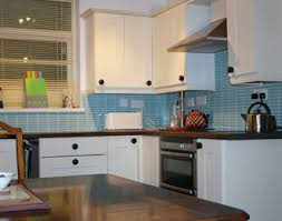 Decko Blue Kitchen Tiles
