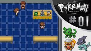 Pokemon Order & Chaos Playthrough Part 1: STARTERS! - YouTube