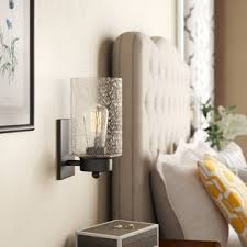 Sconce lighting for bathroom Gray Quickview Wayfair Sconces Youll Love Wayfair