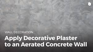 how to apply decorative to plaster a wall household diy projects sikana