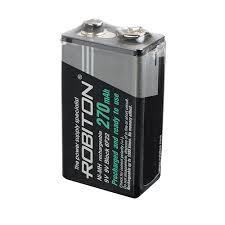<b>Аккумулятор</b> 9V NiMH <b>Robiton</b> 6F22 270 mAh <b>Крона</b> купить в СПб ...