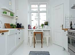 small eat in kitchen ideas tips dining chairs bar counter tiny kit