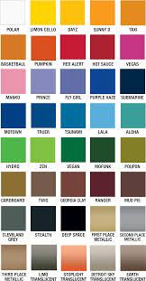 Rustoleum Paint Chart Download Plutonium Paint Color Chart Rustoleum Spray Paint