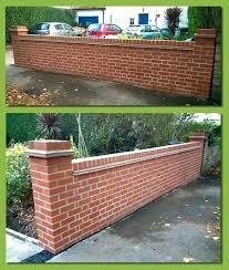 brick garden wall designs small brick wall designs front garden for gardens ideas bricks walls