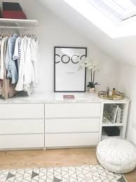 Walk In Wardobe Closet Diy Ikea Malm Kallax Hack With Marble Top
